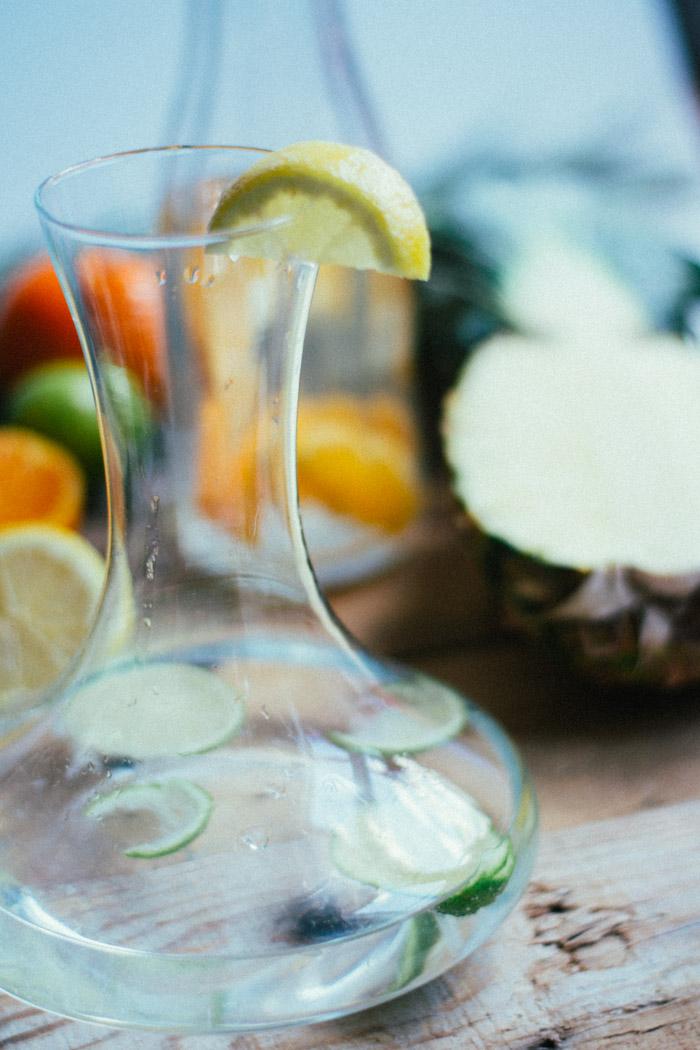 Agua de frutas para hacer en casa