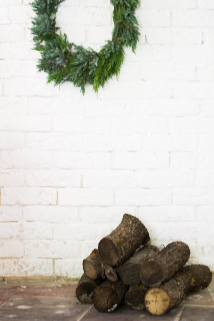 Corona de Navidad diy