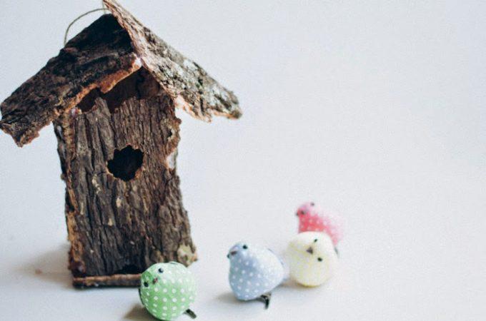 Casita de pájaro DIY Pascua