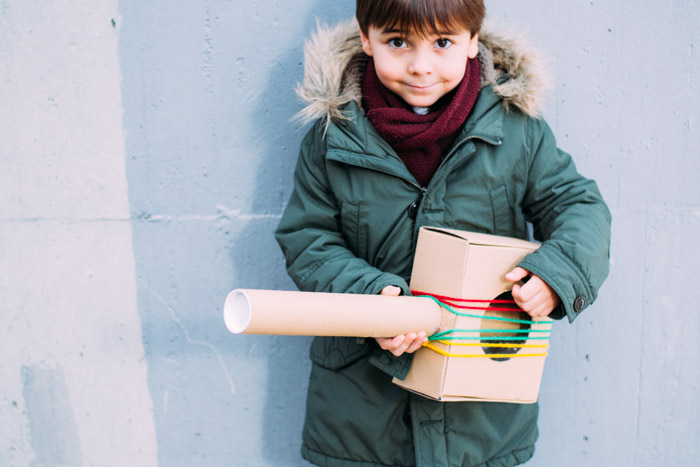 Instrumentos musicales DIY y Concierto de Navidad Cateura