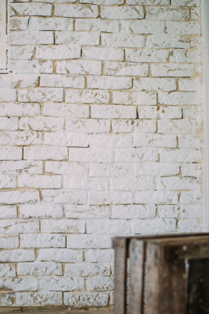 como tener una pared de ladrillo blanco fcil - Pared Ladrillo Blanco
