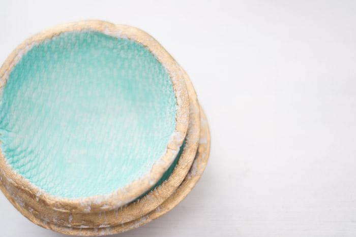 Cuencos de pasta de modelar DIY anthropologie