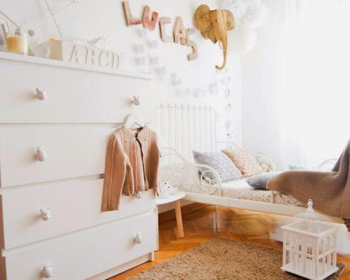 Decoración habitación de Lucas {Resumen DIY}