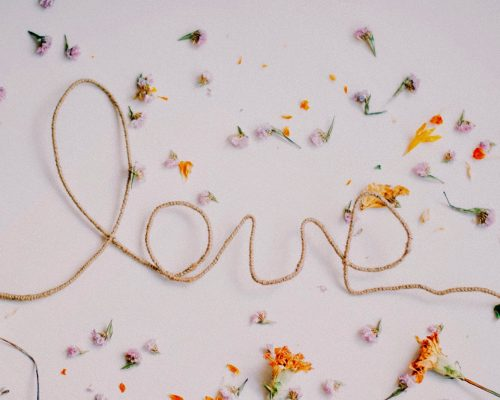 Letras Love DIY
