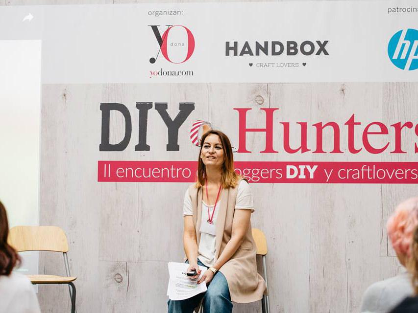 DIY Hunters Day Yo Donna. Ponencia La chimenea de las hadas