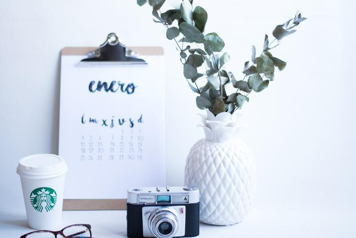 Calendario 2016 Free La Chimenea de las Hadas
