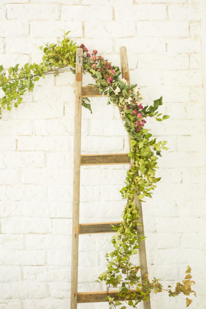 Cómo hacer una escalera rústica