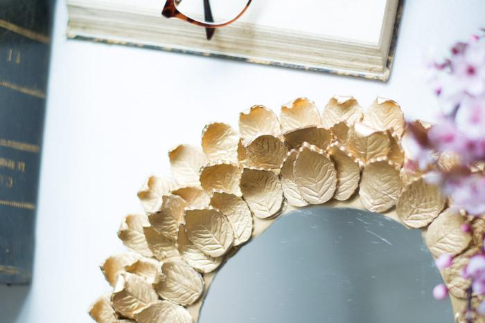Espejo pasta modelar diy