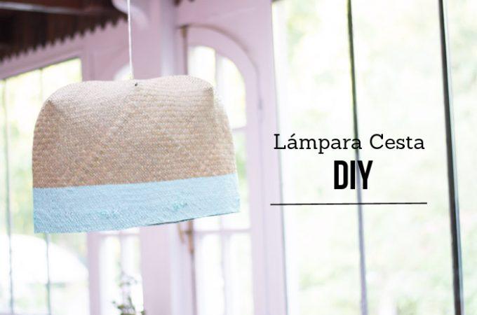 Cómo hacer una lámpara con una cesta DIY