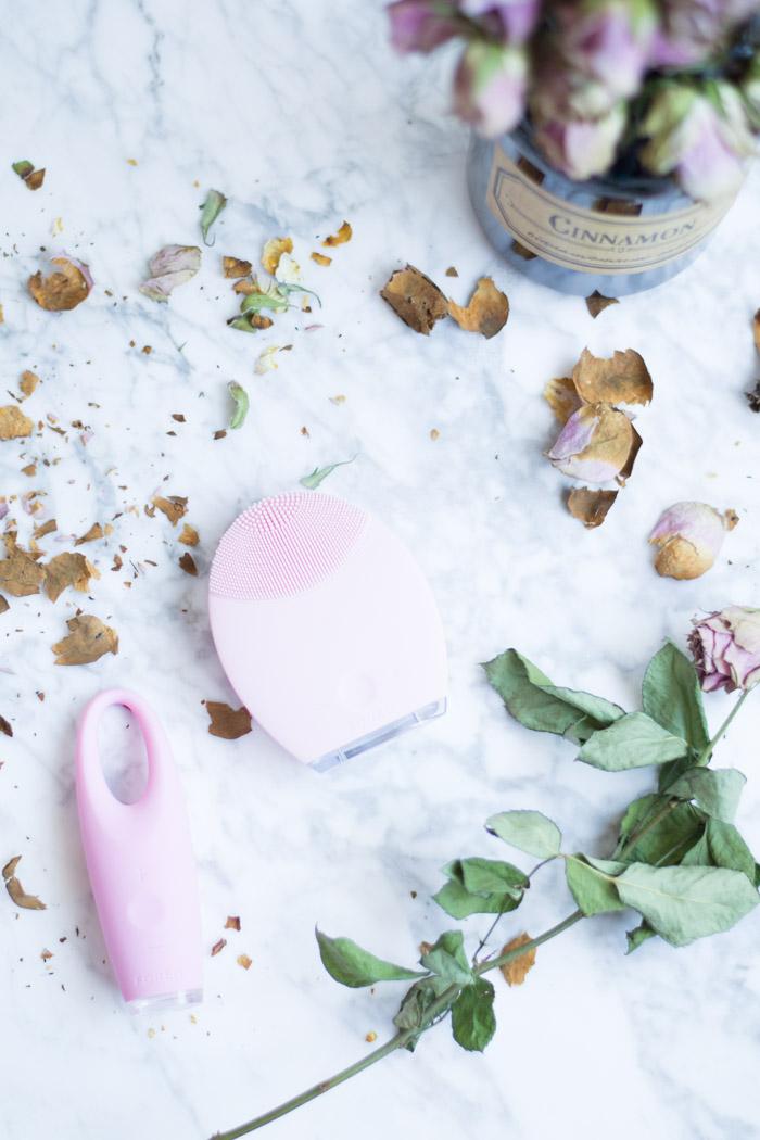 Rutina de limpieza facial y limpiadora exfoliante diy