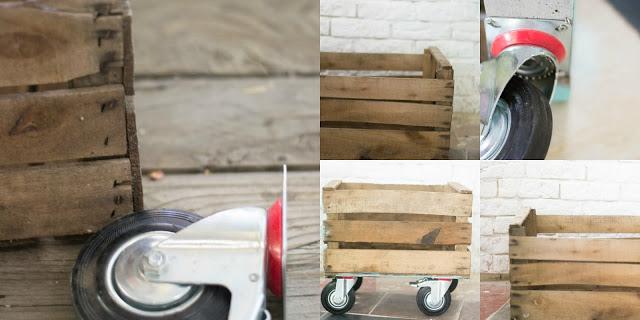 Revistero DIY con una caja de fruta
