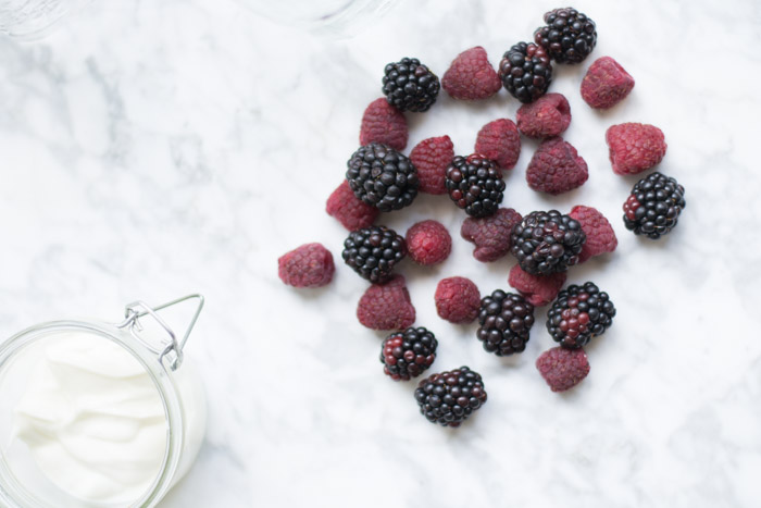 Smoothie frutos rojos