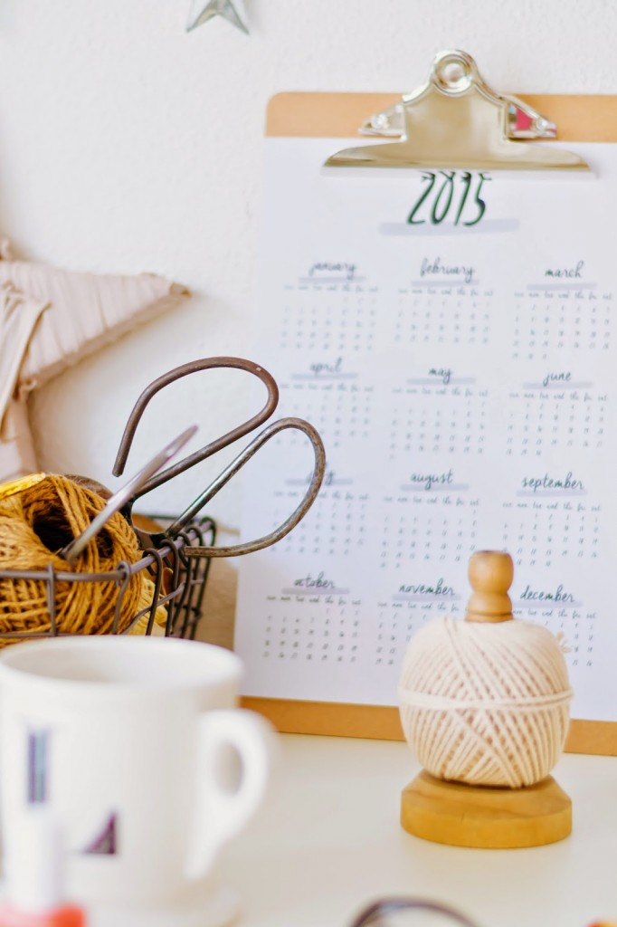 Calendarios 2015 para imprimir gratis