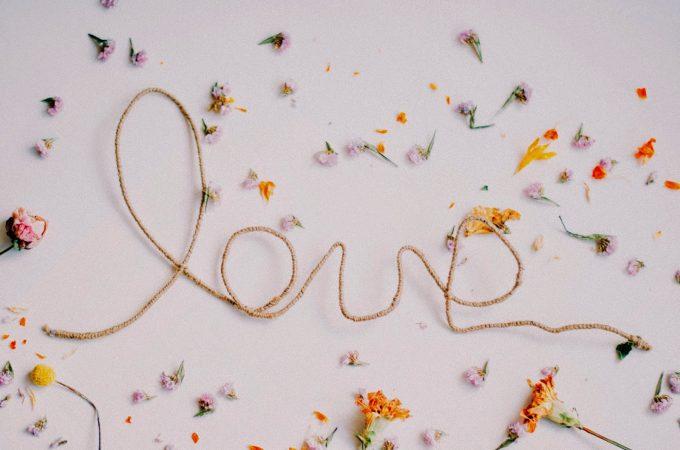 Letras Love DIY